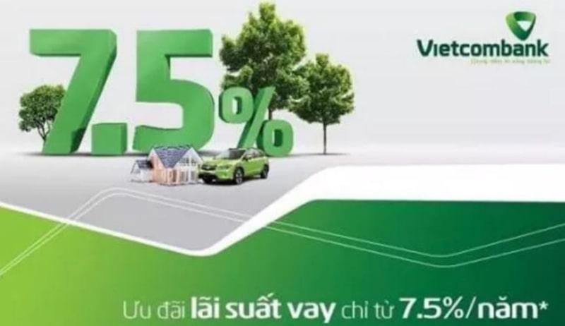 Hình thức vay tiền ngân hàng Vietcombank đa dạng