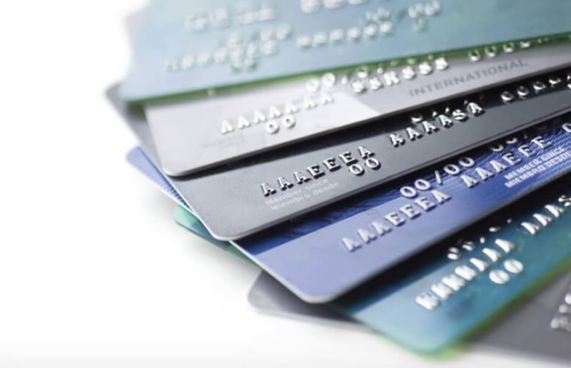 Thẻ tín dụng thường được sử dụng trả góp