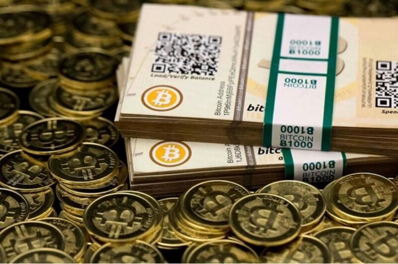 Phổ biến nhất là đổi Bitcoin thành tiền USD