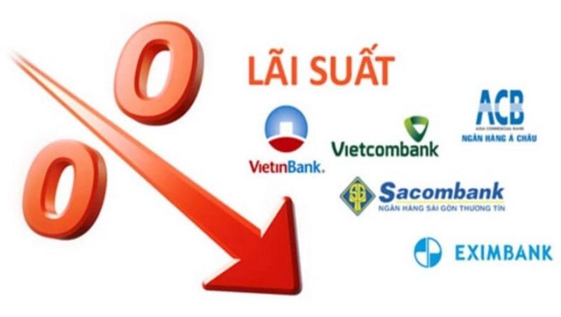 Lãi suất tiền gửi tiết kiểm của các ngân hàng