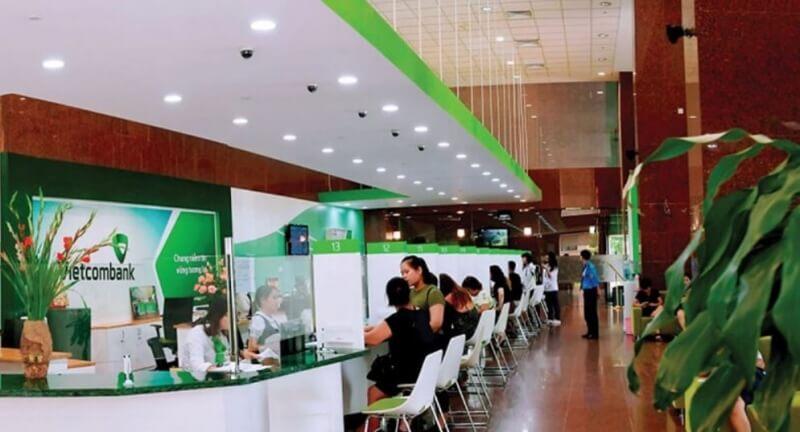Hệ thống cây ATM của Vietcombank