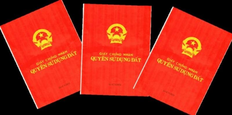 Đăng ký giải chấp sổ đỏ được thực hiện tại văn phòng quản lý đất đai