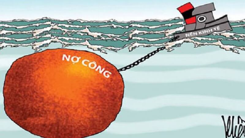 Nợ công là khoản nợ gắn với trách nhiệm trả nợ của Nhà nước