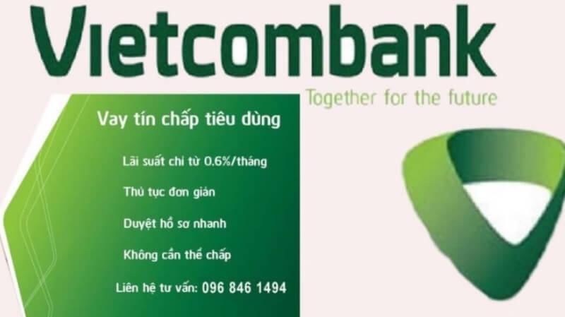 Vay tín chấp tại ngân hàng Vietcombank