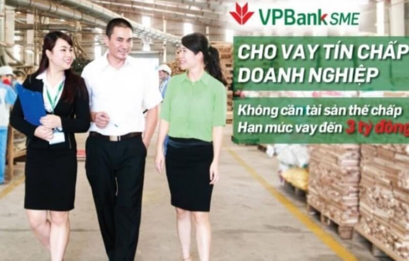 Vay tín chấp doanh nghiệp tại ngân hàng VP Bank
